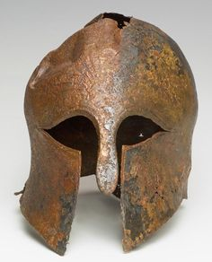 In 2012, a Corinthian style helmet was found in Haifa Bay, directly of the coast of Israel. Dating at 2,600 years old, the helmet is thought to have belonged to a mercenary commander from Greece, that was taking part in a series of wars under the Pharaoh, Necho II.