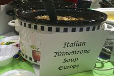 Loved this one. Italian minestrone- Olive Garden hack.
