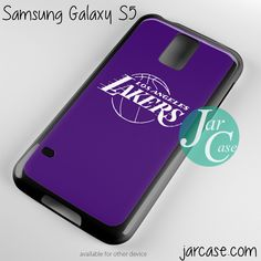 purple lakers Phone case for samsung galaxy S3/S4/S5