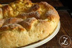 Apfel-Pudding-Kranz, das hört sich läkka an....