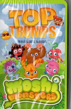 Top Trumps 'Moshi Monsters' Card Game