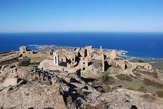 Region de Calvi  - Les ruines d'Occi ancien village de Lumio