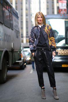 de estilo new-york-street-fashion-week dia-a-4-fevereiro-2014-the-impressão-theimpression-40