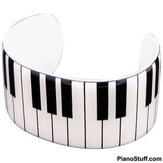 Piano Bracelet - Jewelry for Musicians #gifts #piano