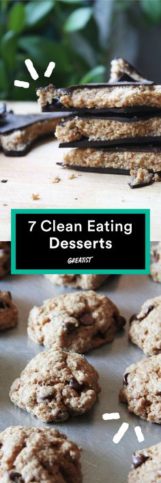 They're so decadent you won't even realize they're healthier versions of your favorites. #cleaneating #healthier #desserts http://greatist.com/eat/healthy-desserts-clean-eating-recipes