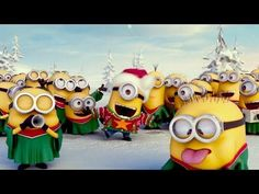 MINIONS Christmas Song - YouTube --More minions are needed! :D