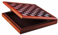 """Chess Box with Board Game for 3-Inch Chess Set by Summit. $73.21. Additional information: Chess pieces not included. The craftsmanship of this piece is superb, this piece is made of wood. Brand new never used condition. Great chess boards piece, makes a perfect gift for any holiday or occasion. This gorgeous Chess Box  with  Board Game (Recommended For 3"""" Chess Sets) has the finest details and highest quality you will find anywhere. The Chess Box  with  Board Game (..."""