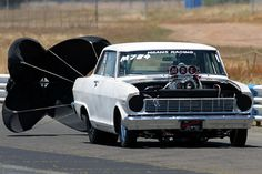 Nova SS drag car | 1965 Chevrolet Nova 2 Dr HT 1/4 mile Drag Racing timeslip specs 0-60