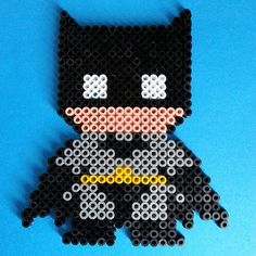 Batman hama beads by perlartshop