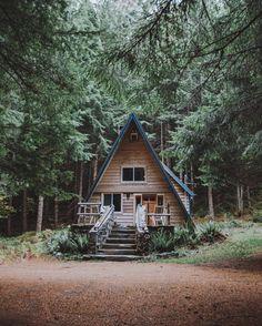 #aframecabins #aframe #tinyhouse #cabin #tinyhousemovement by aframecabins