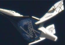 If I was younger and had plenty of money I'd book a flight on Virgin Galactic's Spaceship 2. The ship is going through several atmospheric test flights.