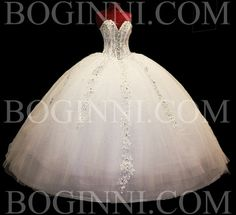 BOGINNI CUSTOM MADE WHITE AB CRYSTAL 250CM WIDE BIG WEDDING LONG TRAIN DRESS
