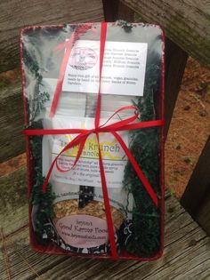 All natural, vegan granolas in a gift basket! Brynnsfoods.com.