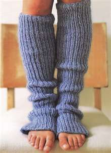 leg warmers!  I remember my first pair of pale pink ones...classic
