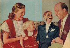 Edgar Bergen & Charlie McCarthy: The art of ventriloquism - Click Americana Paul Winchell, Shari Lewis, Charlie Mccarthy, Number The Stars, Ventriloquist Dummy, Candice Bergen, Mother Daughter Fashion, Punch And Judy, Popular Culture