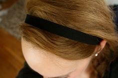 how to make your own elastic headband. The Superettes: DIY elastic hair ties