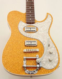 Fano Guitars Alt de Facto TC6 Gold Sparkle