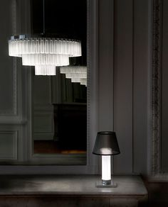 Olivia Putman of Studio Andrée Putman in Paris introduces a line of lighting created in collaboration with Lalique.