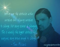 Tomo Milicevic's wise words  #TomoMilicevic #Tomo #30STM #30SecondsToMars #Mars #Quotes