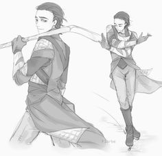 Loki skatingggg... So graceful, my king is...