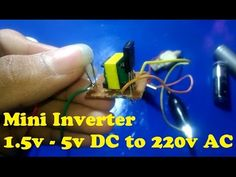 1.5V to 220V Inverter Circuit Explanation - YouTube