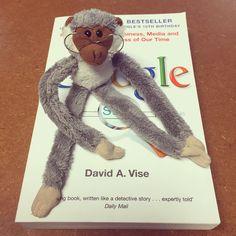 Google monkey! #oxbridgeacademy #oxbridgeacademysa #obi #distancelearning #collegemascot #mascot #studybuddy #support
