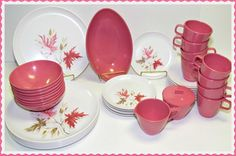 420 Best Melamine Melmac Dishes Images Dishes Vintage