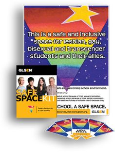 Designed to help educators create a safe space for LGBT youth in schools
