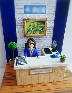 "Paper & clay art miniature _ ""officer"""