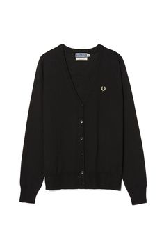 Fred Perry - Reissues Cardigan Black