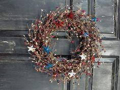 Americana Country Home Decor Catalogs | ... americana home decor here is a great wreath for your americana