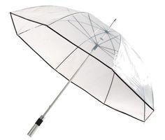 OBSERVER MOQ 24 pcs Transparent aluminium midsize umbrella