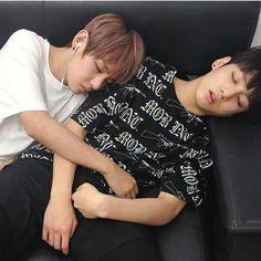 Sleppy V and Jongkook