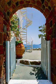 Welcome to paradise, Santorini, Greece