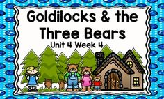 This is an ActivBoard activity to accompany Scott Foresman's Reading Street Unit 4, Week 4: Goldilocks & the Three Bears. This is a five day lesson with multiple activities for each day that include letter recognition, rhyming words, blending sounds and words, high-frequency words, grammar activities, journal activities, games, comprehension activities, and more.
