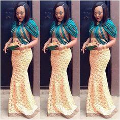 Nigerian Dress Looking Good With Ankara Gown African Wear, African Attire, African Women, African Dress, African Outfits, African Clothes, African Style, Ankara Dress, African Inspired Fashion