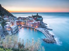 First light in Vernazza by Roberto Moiola