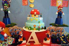 #cake Mario Bros boutique festas