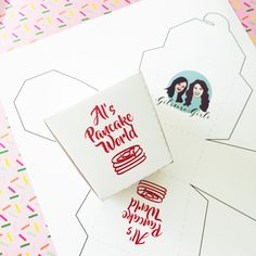 Al's Pancake World Favor Box // Gilmore Girls Viewing Party // Downloadable + Printable
