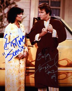 Erin Moran, Henry Winkler Erin Moran, The Fonz, Ralph Macchio, Days Of Our Lives, Me Tv, Tom Cruise, Celebs, Celebrities, Happy Day