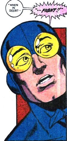 The superhero's creed (Giffin/DeMatteis JLI) Dc Heroes, Comic Book Heroes, Comic Books, Blue Beetle, Book Images, Vintage Images, Blue Gold, Dc Comics, Beetles