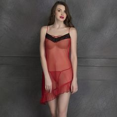 441473da7307 Buy Sheer Babydoll with Matching Thong Online India, Best Prices, COD -  Clovia - NS0959M04