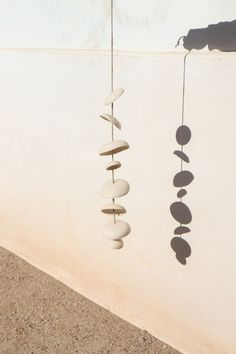 Home Decor Objects Ideas & Inspiration : Moon Chimes Christmas Gift Decorations, Cozy Cottage, Light And Shadow, Decorative Objects, Ceramic Art, Wind Chimes, Home Goods, Arts And Crafts, Sculpture
