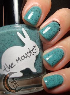 ThePolishHoochie: Hare The Monster! layered over Essie Greenport Nails Inspiration, Hare, Essie, My Nails, Nail Polish, Nail Art, Makeup, Make Up, Bunny