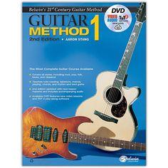 Alfred Belwin's 21st Century Guitar Method 1, Book, DVD & Online Audio