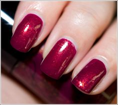 """cult nails """"iconic"""". i love this berry shade."""