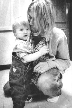 Kurt & Frances Cobain