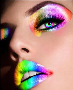 love the lipstick design and the colored contacts,not a big fan of the eye shadow though.