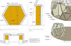 Ecoproyecta - Sustainable Architecture - Geodesic Dome for gymnastics at a school in Burgos Dream Home Design, House Design, Yurt Home, Geodesic Dome Homes, Roof Shapes, Shelter Design, Home Greenhouse, Great Buildings And Structures, Dome House