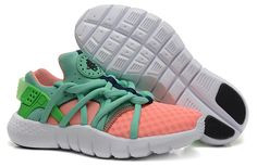 meet 518ac d91c4 Nike Air Huarache NM Running Shoes Total Orange Poison Green Cheap  Sneakers, Discount Sneakers,
